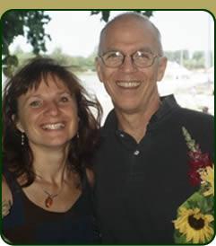 Jeff Collins and Gisela Konrad